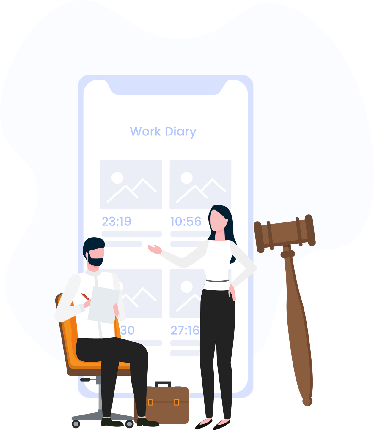 Work Diary for legal industry