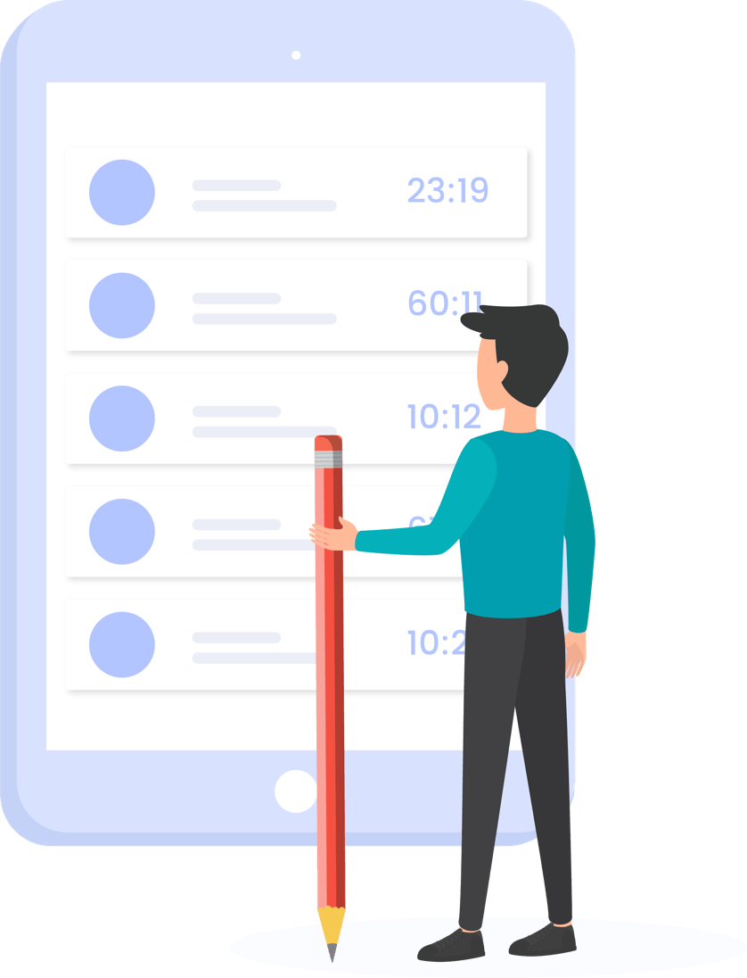 Content Writing monitoring