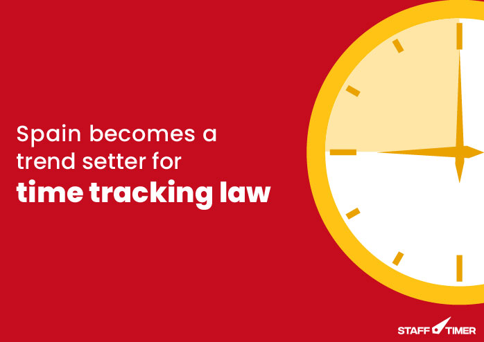 Time tracking law in spain