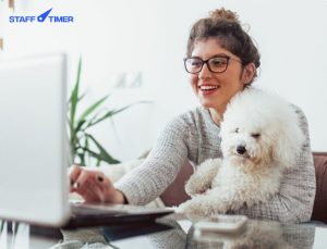 5 ways to survive work from home with Staff timer app